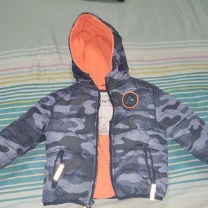 Carter's Baby Boy Camo Coat 18 M